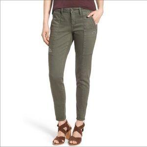 Treasure & Bond Olive Jeans